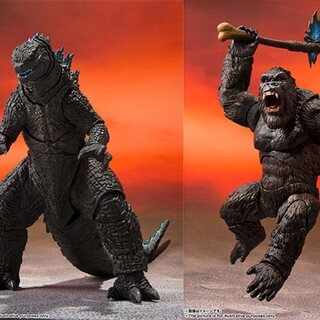 S.H.MonsterArts キングコング ゴジラ 2種セット