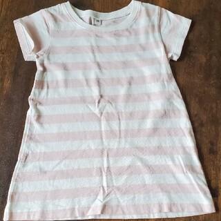 ムジルシリョウヒン(MUJI (無印良品))の無印良品 ボーダー Tシャツ(Tシャツ/カットソー)