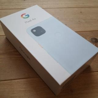 Google Pixel - 【新品・未使用】Google Pixel 4a 128GB simフリー