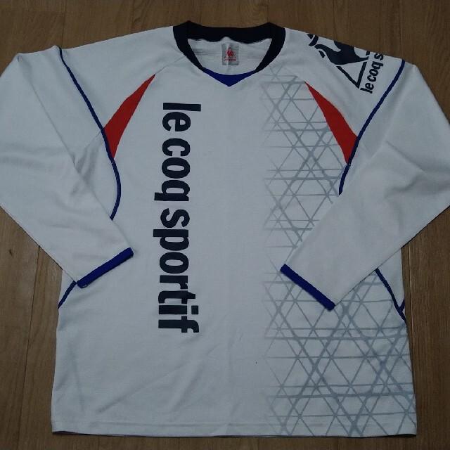le coq sportif(ルコックスポルティフ)のルコック長袖Tシャツ Mサイズ スポーツ/アウトドアのゴルフ(ウエア)の商品写真