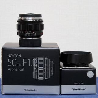 ライカ(LEICA)のVoigtlander NOKTON 50mm F1.2 Aspherical (レンズ(単焦点))