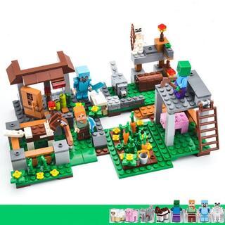 マインクラフト 戦馬の城 ブロック マイクラ レゴ互換 知育玩具