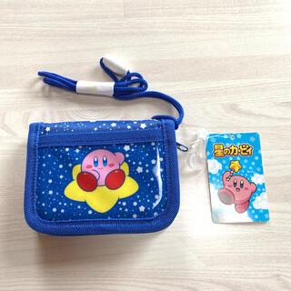 ディズニー(Disney)の新品未使用 星のカービィ 財布 折り財布 キッズ キャラクターグッズ ゲーム(財布)