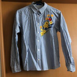 BURBERRY BLUE LABEL - ブルーレーベル クレストブリッジ ストライプシャツ