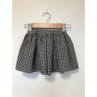 サンカンシオン(3can4on)のチェック チュール リバーシブルスカート(ドレス/フォーマル)