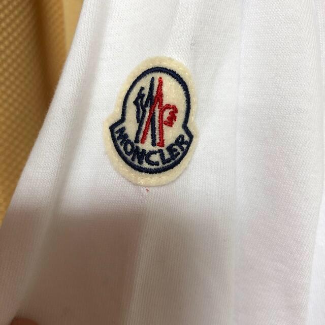 MONCLER(モンクレール)のモンクレール 長袖 白 XXLサイズ メンズのトップス(Tシャツ/カットソー(七分/長袖))の商品写真