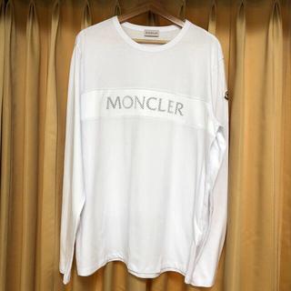 MONCLER - モンクレール 長袖 白 XXLサイズ