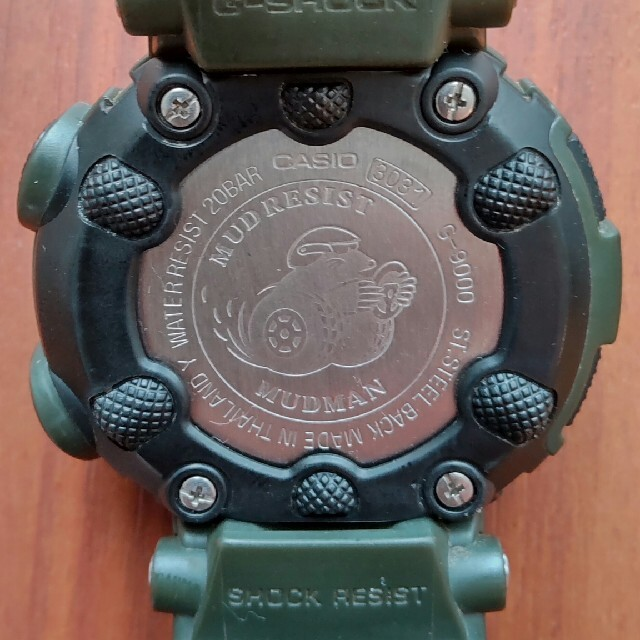 CASIO(カシオ)のG-SHOCK MADMAN G-9000 アーミーグリーン 海外モデル メンズの時計(腕時計(デジタル))の商品写真