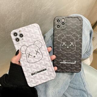 大人気 iPhone12Proケース iPhoneXS Max kaws