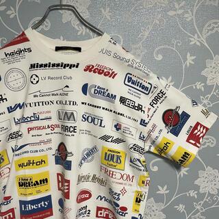 LOUIS VUITTON - LOUIS VUITTON ロゴ Tシャツ Mサイズ ホワイト