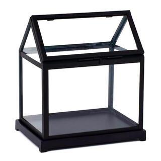 ZARA HOME - グリーンハウス ミニ H&M 木製のベース付き 本格派ガラス使用