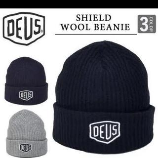 デウスエクスマキナ(Deus ex Machina)のDEUS ニット帽(ニット帽/ビーニー)