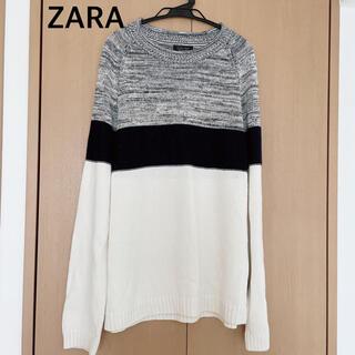 ザラ(ZARA)の【ZARA】メンズ セーター サイズ42(ニット/セーター)