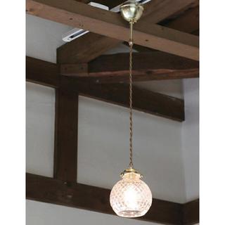 グラスシェードランプ パンフィリア アンティーク3(天井照明)