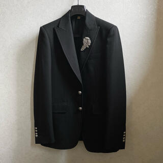 BURBERRY - BURBERRY 刺繍 ジャケット