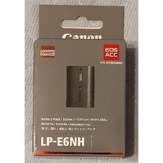 Canon - 新品 Canon 純正バッテリー LP-E6NH