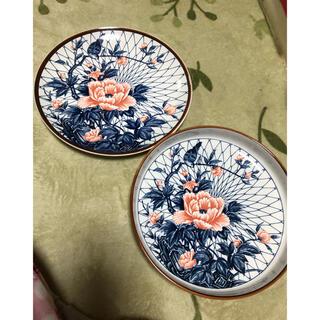 平皿 深皿 花柄 新品未使用(食器)