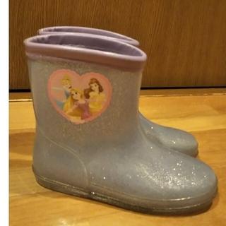 ディズニー(Disney)のディズニー プリンセス 長靴 18㎝(長靴/レインシューズ)