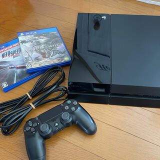 PlayStation4 - ps4 本体 付属品+ソフトセット