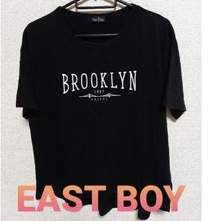 イーストボーイ(EASTBOY)のEASTBOY   プリントTシャツ(Tシャツ(半袖/袖なし))