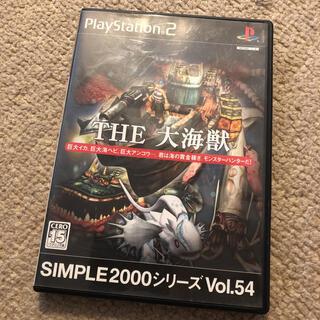 プレイステーション2(PlayStation2)のPS2 simple2000 THE 大海獣(家庭用ゲームソフト)