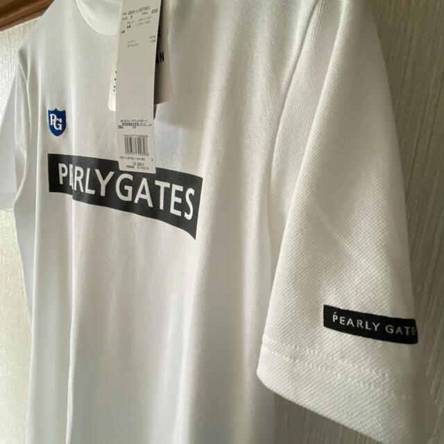 PEARLY GATES(パーリーゲイツ)のパーリーゲイツ 新品未使用 MENS ベア カノコ 半袖 ハイネック カットソー スポーツ/アウトドアのゴルフ(ウエア)の商品写真