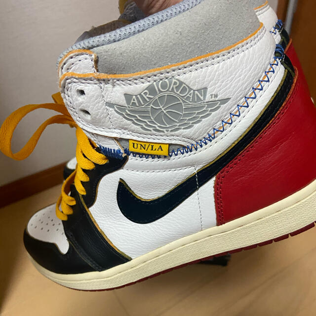 NIKE(ナイキ)のNIKE union jordan1 26.5 メンズの靴/シューズ(スニーカー)の商品写真