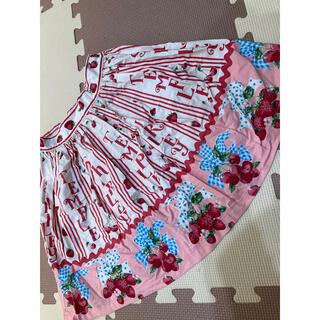 Shirley Temple - シャーリーテンプル いちごスカート