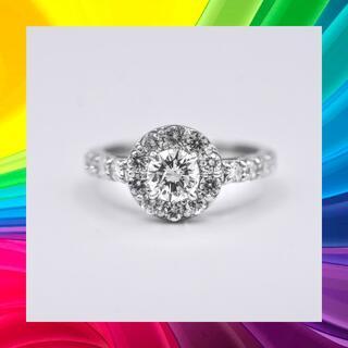 プラチナ ダイヤモンド リング ソーティング付 0.532ct SI-2(リング(指輪))