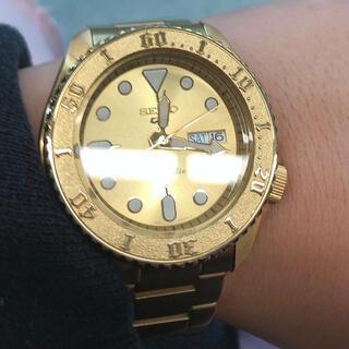 セイコー(SEIKO)のSEIKO 5 自動巻き ゴールド(腕時計(アナログ))