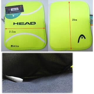 ヘッド(HEAD)のヘッド iPadケース テニスボール風 HEAD(182C)(その他)