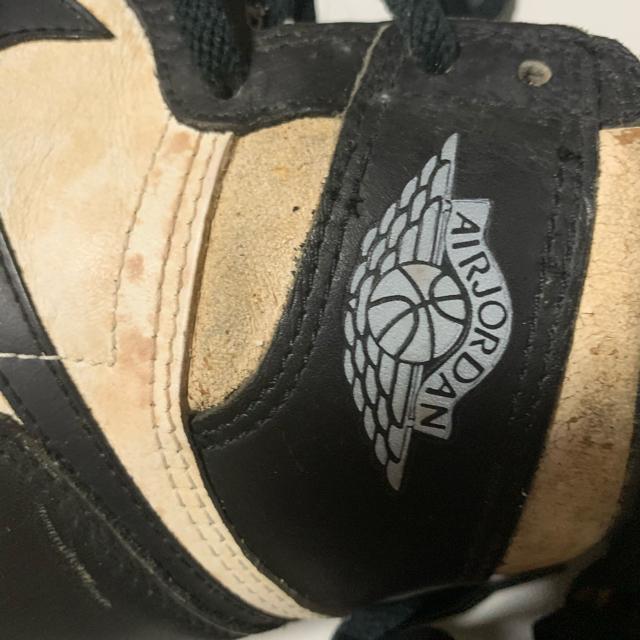 NIKE(ナイキ)の jordan1 85年 黒白 オリジナル メンズの靴/シューズ(スニーカー)の商品写真