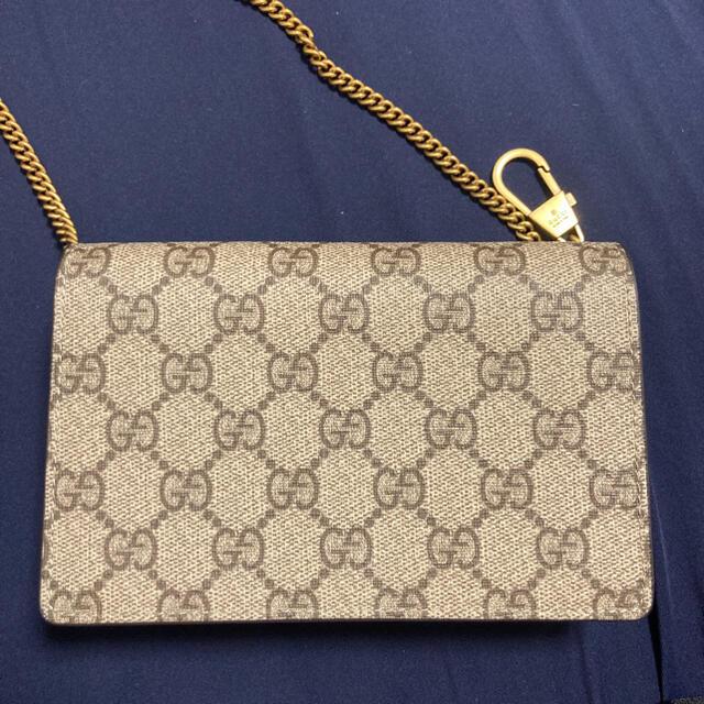 Gucci(グッチ)のGUCCI チェリー さくらんぼ GGスプリーム チェーン ショルダーバッグ レディースのバッグ(ショルダーバッグ)の商品写真