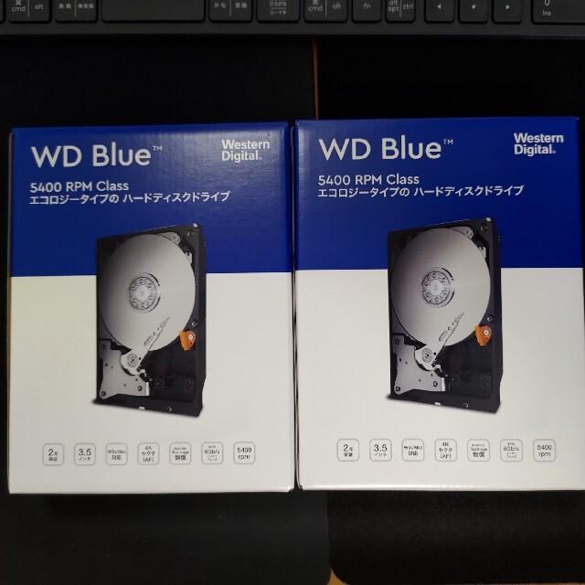 新品 WD60EZAZ-RT 6TB HDD スマホ/家電/カメラのPC/タブレット(PCパーツ)の商品写真