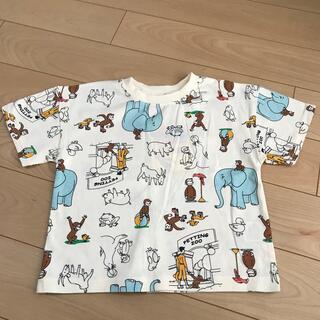 futafuta - おさるのジョージ総柄Tシャツ