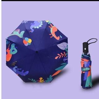 専用 折り畳み傘 自動開閉 ブルー(傘)