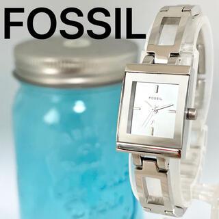 フォッシル(FOSSIL)の108 フォッシル時計 レディース腕時計 スクエア ミラー文字盤 ブレスレット(腕時計)