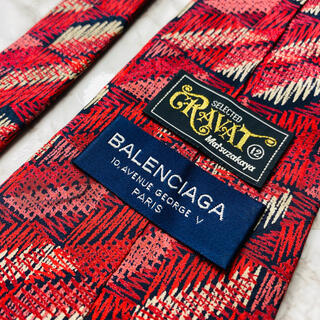 Balenciaga - 即購入OK!3本選んで1本無料!バレンシアガBALENCIAGAネクタイ6192