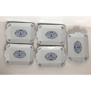ニッコー(NIKKO)の●ニッコーNIKKO / プレートパン28.5×19ダブルフェニックス5枚セット(食器)