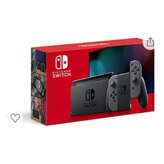 Nintendo Switch - 新型 任天堂 Nintendo Switch 本体 ニンテンドースイッチ グレー
