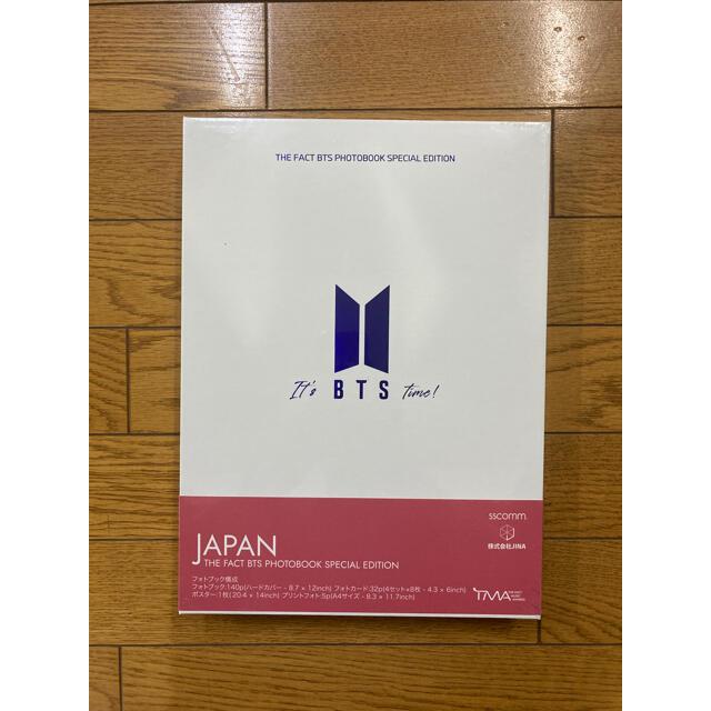 防弾少年団(BTS)(ボウダンショウネンダン)のTHE FACT BTS PHOTO BOOKSPECIAL EDITION エンタメ/ホビーのCD(K-POP/アジア)の商品写真