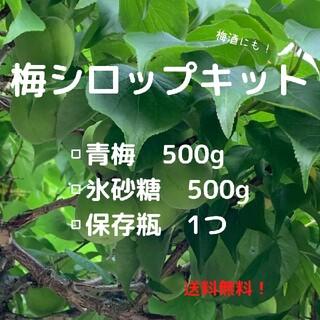 梅酒キット、梅シロップキット(フルーツ)