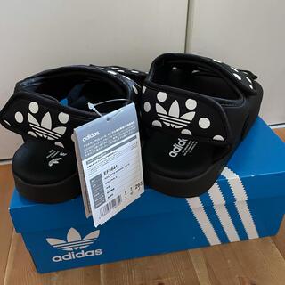 アディダス(adidas)のadidas アディダスオリジナルス ドット柄 アディレッタ 3.0 サンダル(サンダル)