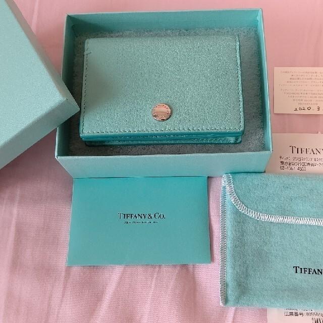 Tiffany & Co.(ティファニー)の☆【なあちゃんさま専用】☆Tiffanyカードケース レディースのファッション小物(名刺入れ/定期入れ)の商品写真