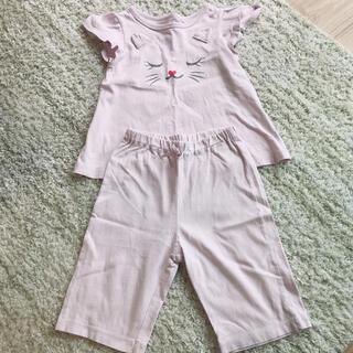 ジーユー(GU)のGU♡ねこちゃんパジャマ 110cm(パジャマ)