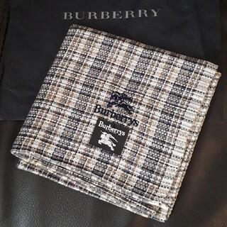 バーバリー(BURBERRY)のBURBERRY  メンズ ハンカチ バーバリー(ハンカチ/ポケットチーフ)