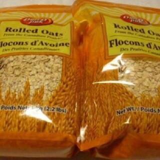 コストコ(コストコ)のオートミール1kg 2個(米/穀物)