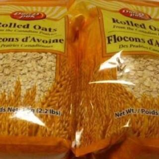 コストコ(コストコ)のオートミール 1kg 2個(米/穀物)