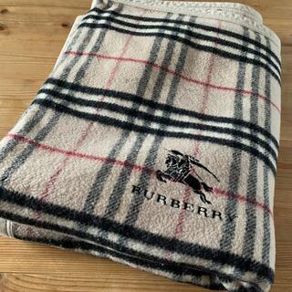 BURBERRY - BURBERRY 毛布 シングルサイズ