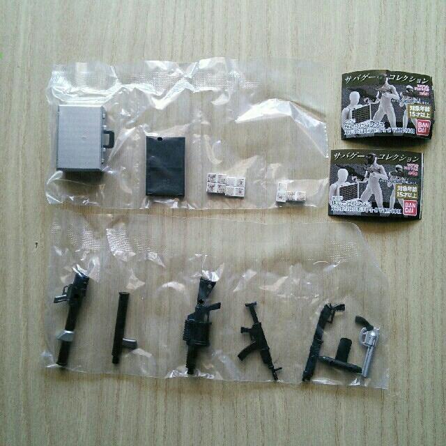 BANDAI(バンダイ)のサバゲーコレクション 4種セット エンタメ/ホビーのフィギュア(その他)の商品写真